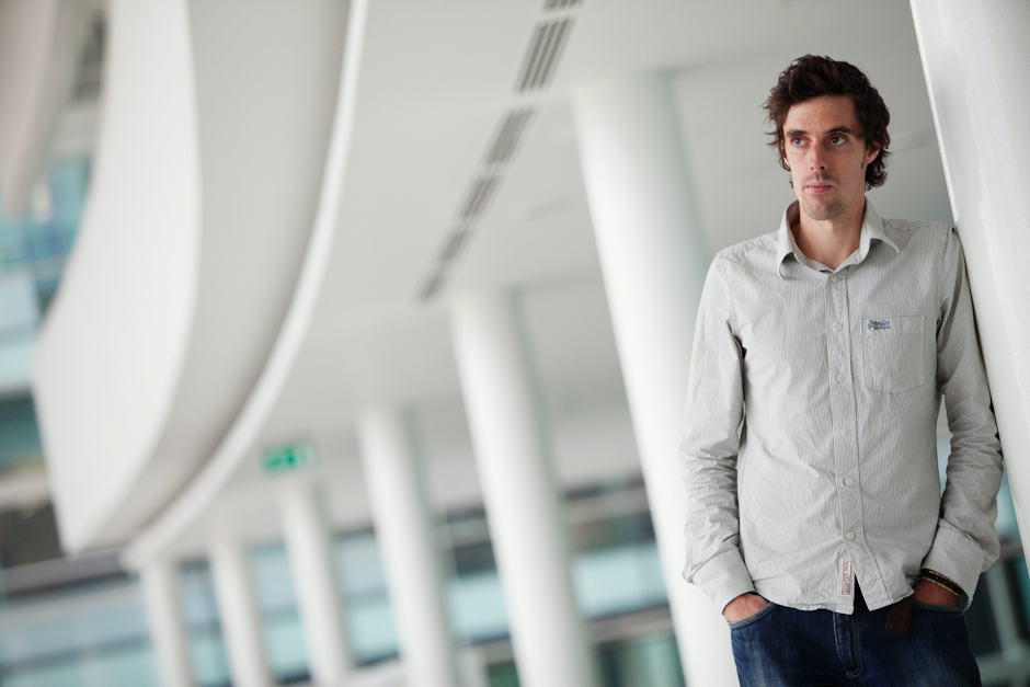 Photographic corporate portraits by Manchester photographer Matt Priestley at Dock10, Media City